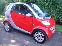 2002 Smart Car Passion soft touch auto coupe, a great cheap to run motorcar