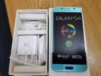 Samsung Galaxy S6 SM-G920F - 32GB - blue topaz (Unlocked) Smartphone1