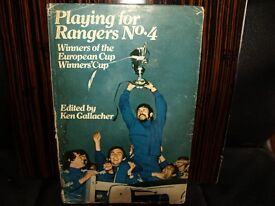 PLAYING FOR RANGERS No 4 1972