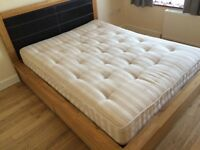 Good quality King Size bed and mattress by Dreams