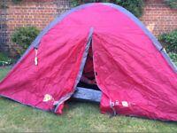 Hi Gear 2 Man Tent (Ion 2) Excellent condition