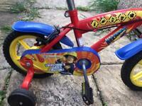 "12"" fireman sam's bike"