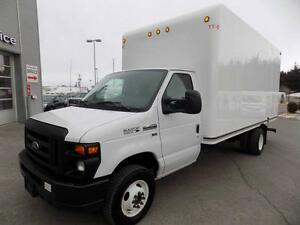 FORD E-450 CUBE 16 PIEDS RAMPE 2014