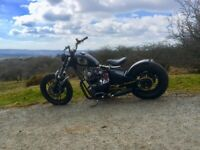 Yamaha XS650 Bobber chopper project Motorcycle, used for sale  Plympton, Devon