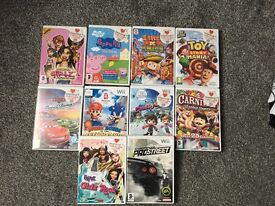 Nintendo Wii kids games