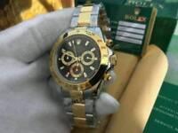 Rolex Daytona Cosmograph Black Dial Two tone