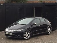 ★ 2008 HONDA CIVIC 2.2 CTDi + HEATED BLACK LEATHER + ELECTRIC WINDOWS ★