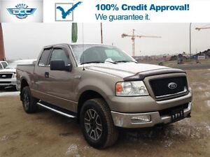 2004 Ford F-150 XLT 4x4!! Low KM's!! Amazing Value!!