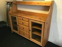 Ikea antique pine leksvik side board