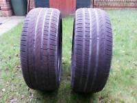 2 x Pirelli P7 225/45 r18