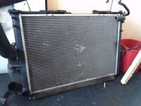 Rover 75 Radiator and air condition rad