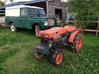 Kubota compact Tractor 4x4
