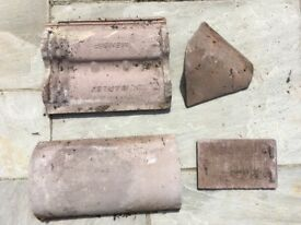 Marley and other concrete used roof tile bundle