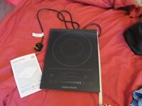 One ring ceramic induction hob - freestanding