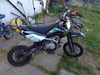 140 stomp pit bike