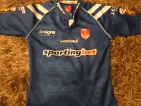 HULL KINGSTON ROVERS AWAY SHIRT VERY GOOD CONDITION