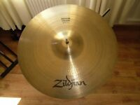 "a.zildjian 18"" medium crash cymbal"