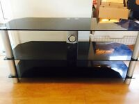 High Glosd Glass tv stand
