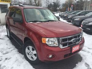 2008 Ford Escape XLT/LEATHER/ROOF/LOADED/ALLOYS