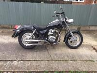 Baimo renegade 125cc learner legal motorcycle great runner.