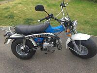 Sand bike / Monkey bike Suzuki retro style 50cc