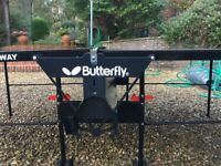 Table Tennis Table - Butterfly Personal Rollaway Table