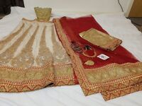 Full set saree Bollywood Style