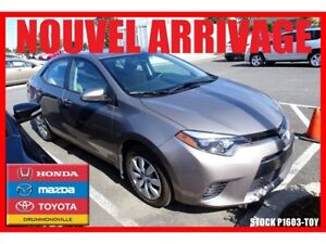 2016 Toyota Corolla LE / CAM RECUL / SIEGES CHAUFF
