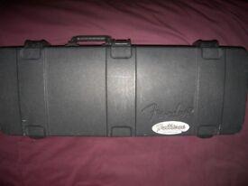 Fender Stratocsater / Telecaster , Original Hard Case with crack.