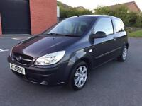 JUNE 2008 HYUNDAI GETZ 1.1 GSI ONLY 60,000 MILES JUST PASSED THE MOT