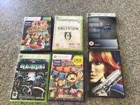 5 x XBox 360 games. VGC. Perfect dark zero. Oblivion others