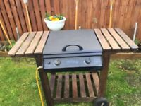 BBQ gas or charcoal chiminea cast iron gas or charcoal