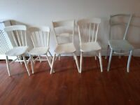 5 Wooden Chairs Free to Collector