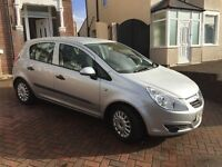**Low mileage** 57 plate Corsa 1.0L Life 5 dr in Silver