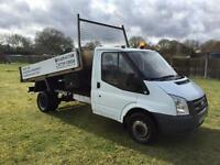Ford transit tipper NO VAT