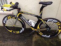 Specialised transition tt carbon bike