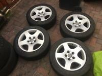 """Audi Alloy Wheels 16"""" 5 x 112"""