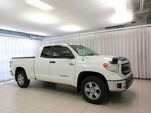 2014 Toyota Tundra SR5 DOUBLE CAB 4X4 - SINGLE OWNER, DEALER MAI