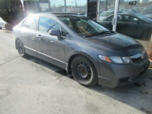2010 Honda Civic EX-L AUTO W/ LEATHER, ALLOYS & MOONROOF