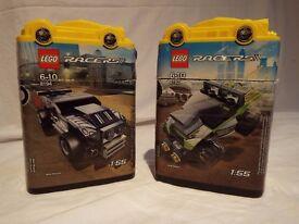 LEGO Set 8192-1 - Lime Racer & LEGO Set 8194-1 - Nitro Muscle