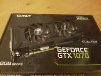Nvidia Palit 1070 gtx