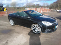 VAUXHALL ASTRA TwinTop Cabriolet (New Ferry, Wirral) - 1.9CDTi Exclusiv Black (Top Spec) - 74k