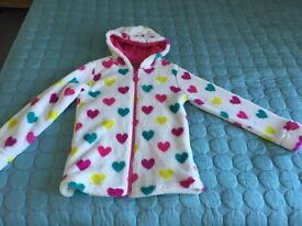 Soft Fleece warm cardigan jacket age 11-12