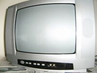 Television with Remote Control