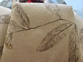Lizzie Stanhope custom made cushions in Harlequin fabric