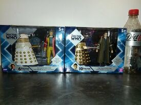 doctor who collectable figures