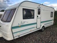coachman prestidge/530/4/berth fixed bed 2003 17ft motor mover px welcome