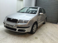 2006 SKODA FABIA AMBIENTE 1.2 PETROL 5 DOOR FULL DEALER SERVICE 2 KEYS LONG MOT ONE OWNER FROM NEW
