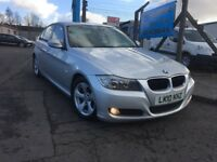 2010 BMW 3 SERIES 320D £30 ROAD TAX FULL BLACK LEATHER + SERVICE HISTORY