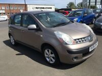 2006 Nissan Note SE 1.4 ,mot-June 2019 ,full service history 11 stamps , 3 owners,astra,focus,scenic